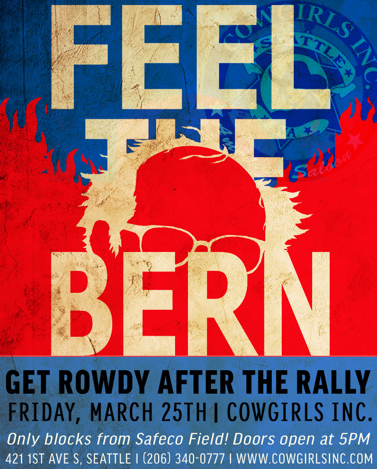 Bernie Sanders Rally After Party
