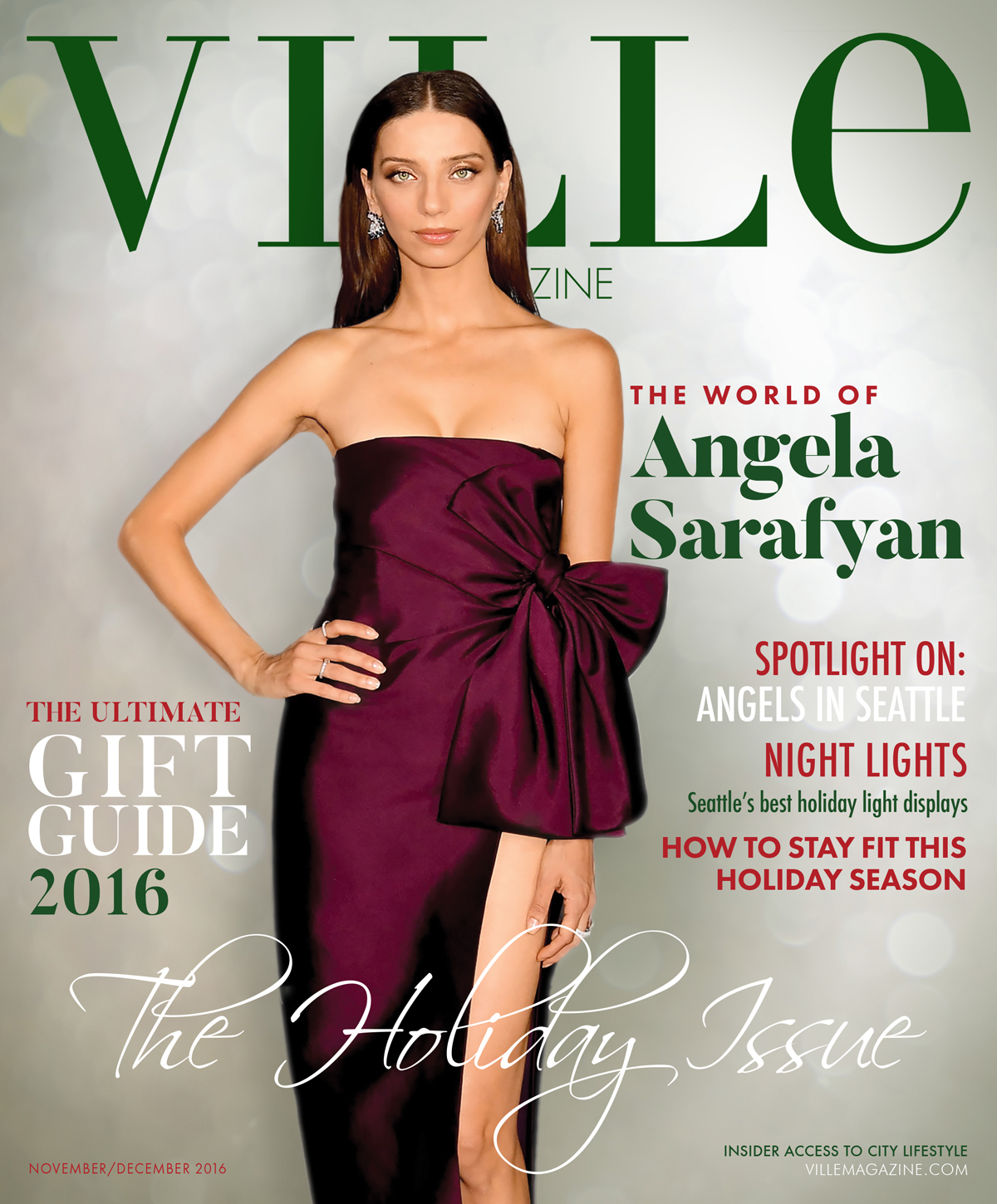 2016 Ville Magazine Holiday Issue