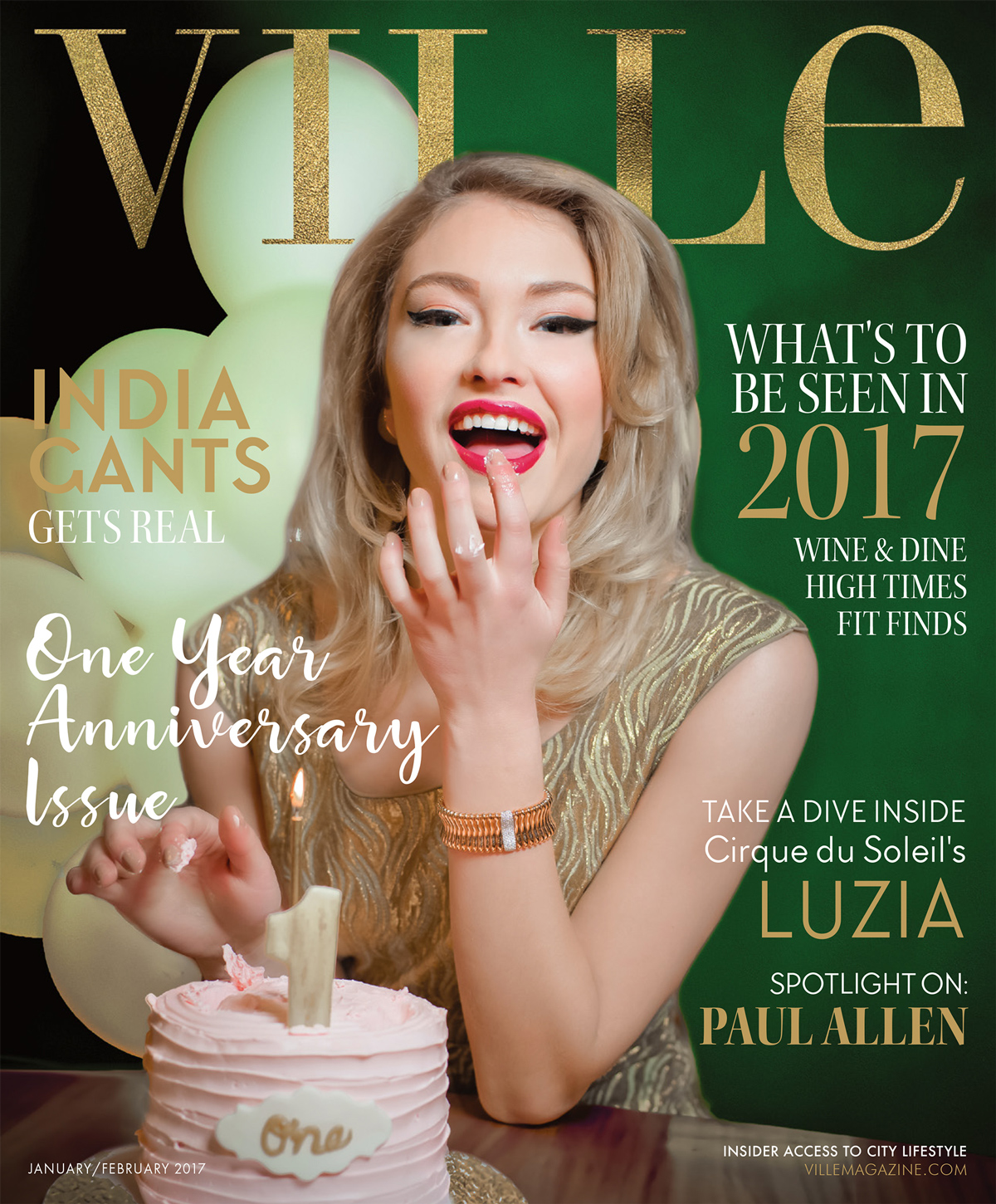 2017 Ville Magazine 1 Year Anniversary Issue