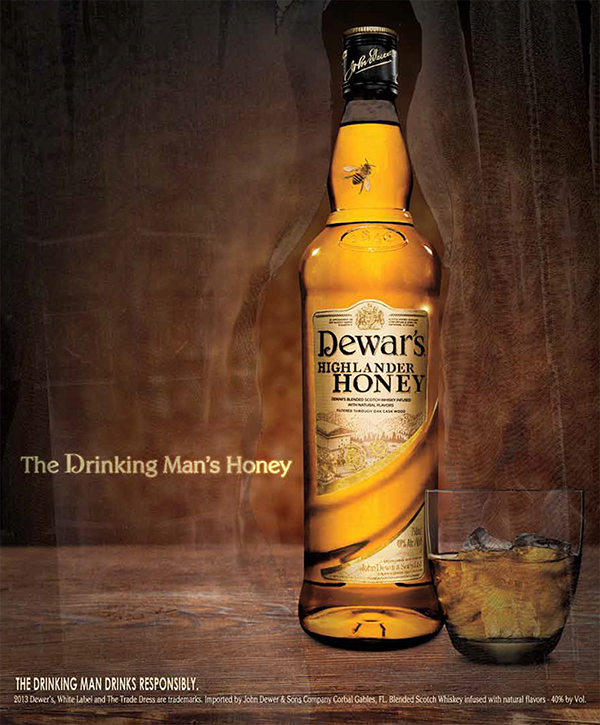 Dewar's Honey Whiskey