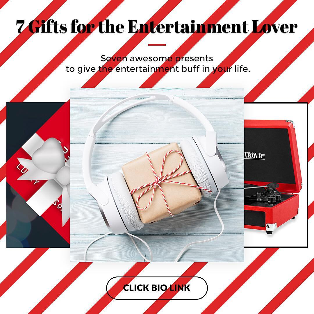 7 Gifts for the Entertainment Lover